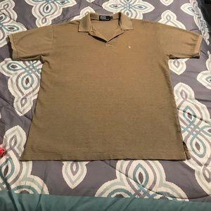 Polo Shirt Short Sleeve Brown XL